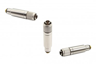 New Product HIXMAN C4CH Microdot to Hirose 4-Pin screw-down cH-style Adapter for Audio-technica Wireless Transmitters