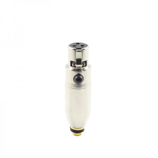 HIXMAN C3PE-B Microdot Adapter For DPA Microphones Fits Peavey PV1 Bodypack Transmitters