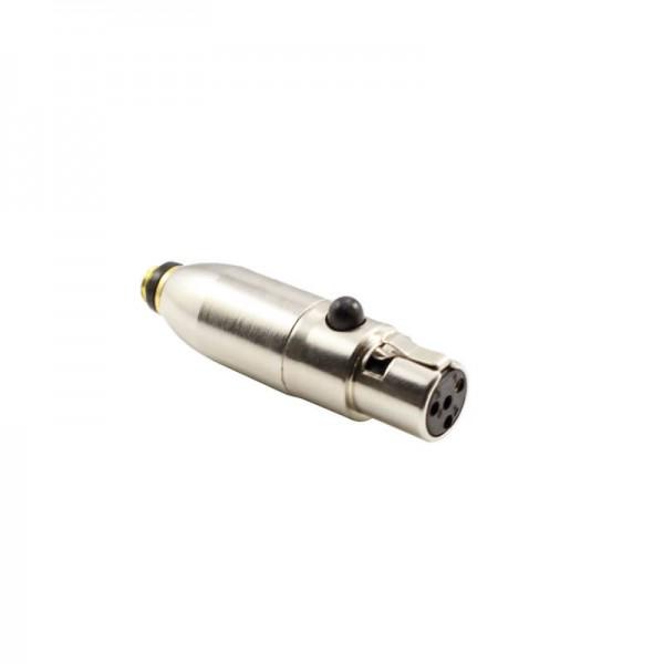 HIXMAN C4TR-B Microdot Adapter For DPA Microphones...