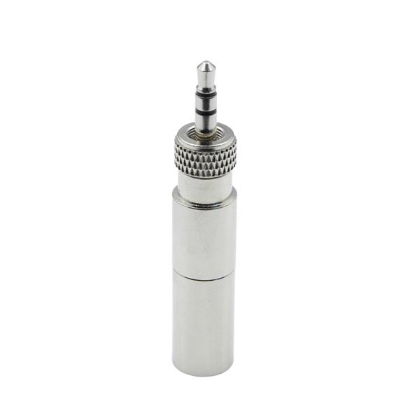 HIXMAN CA601 Convert Adapter For Shure TA4F to Sennheiser Audio2000S 3.5mm Plug Wireless Bodypack Transmitter