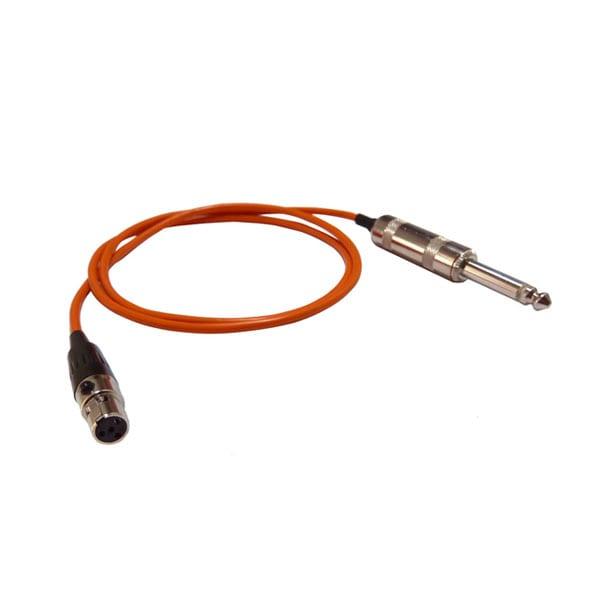 HIXMAN G4S Instrument Cable 4-Pin Mini XLR TA4F to...