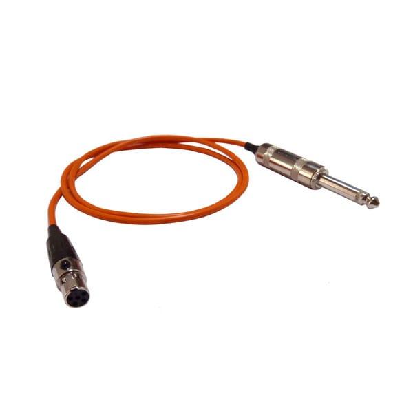 HIXMAN G5L Instrument Cable 5-Pin Mini XLR TA5F to...