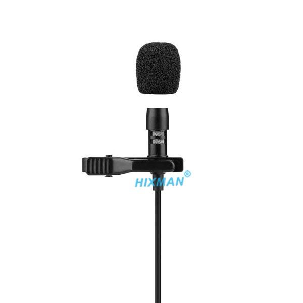 HIXMAN LM1 Uni-Directional Lavalier Lapel Microphone For akg audio technica sennheiser shure sony lectrosonics carvin electro voice telex jts line 6 mipro peavey samson wisycom zaxcom anchor audio audio2000s beyerdynamic vocopro Wireless Bodypack Transmit